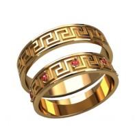Серебряный обручальные кольца