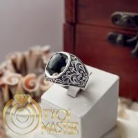 Мужской перстень Отелло