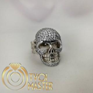 Кольцо в виде черепа