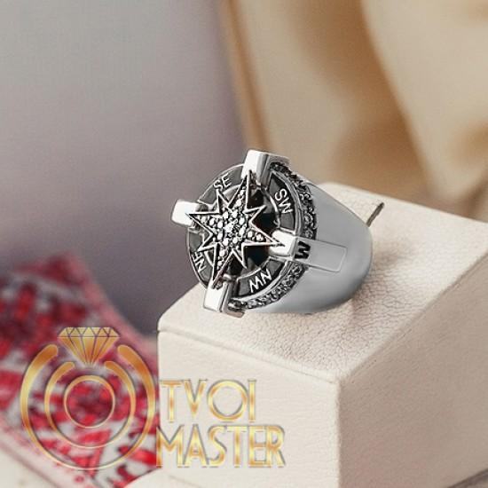 Перстень Роза Ветров