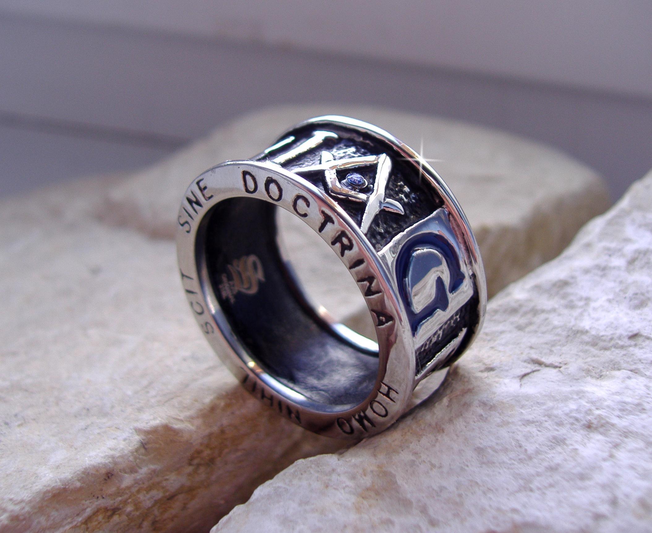 Масонский перстень Геометрия