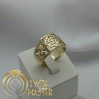 Серебряное мужское кольцо Валькирия