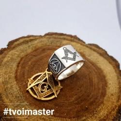 Масонское кольцо Мастера