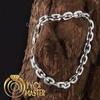 Якорный браслет из серебра