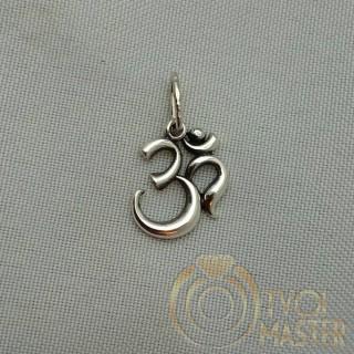 Кулон с будийским символом ОМ